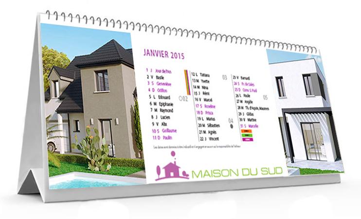 Les calendriers brochure