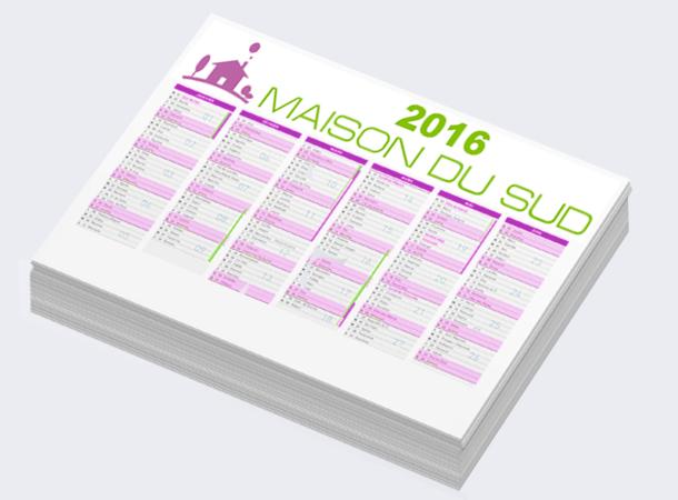 Les calendriers souples